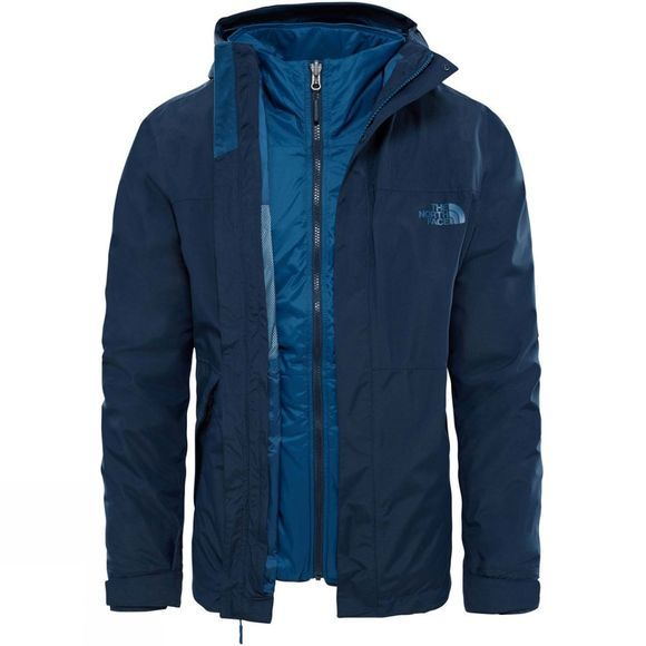 The North Face Mens Naslund Tri- Climate Jacket Urban Navy
