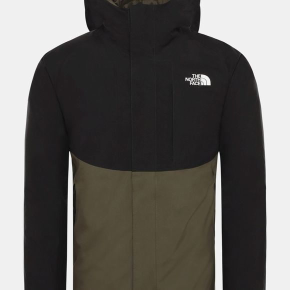 The North Face Mens Mountain Light Gore-Tex Zip-In Triclimate Jacket New Taupe Green/Tnf Black