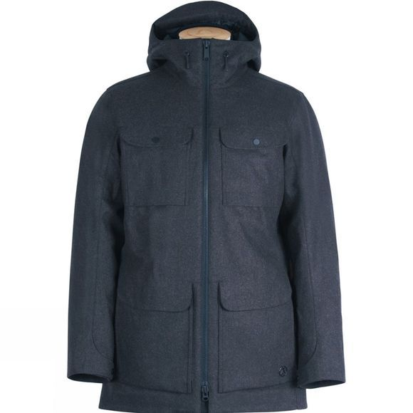 Men's Insulated Tech Wool PARKA