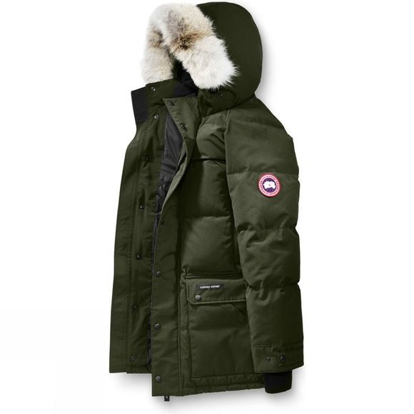 Canada Goose Mens Emory Parka MILITARY GREEN