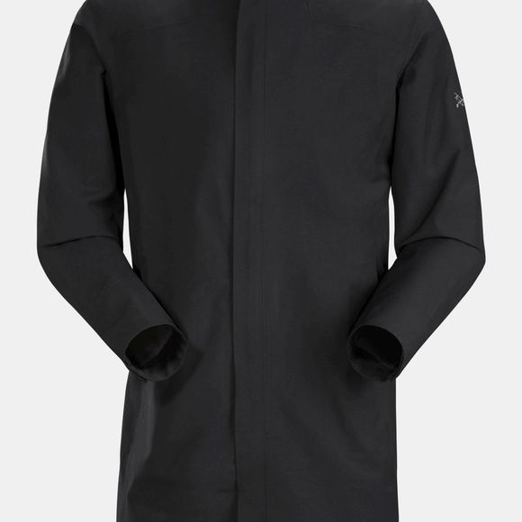 Arc'teryx Mens Keppel Trench Coat Black ll