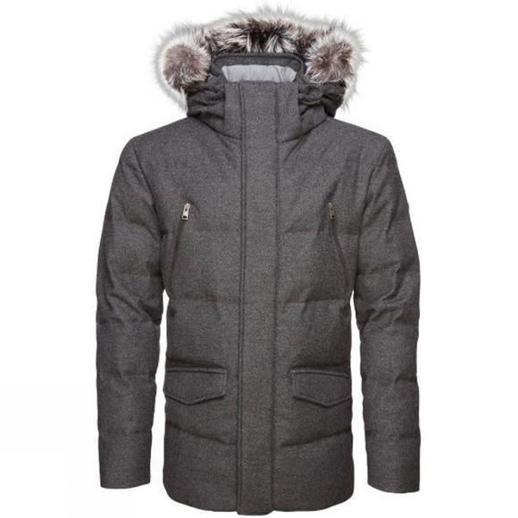 KJUS Mens Staz Parka Dark Grey Herring
