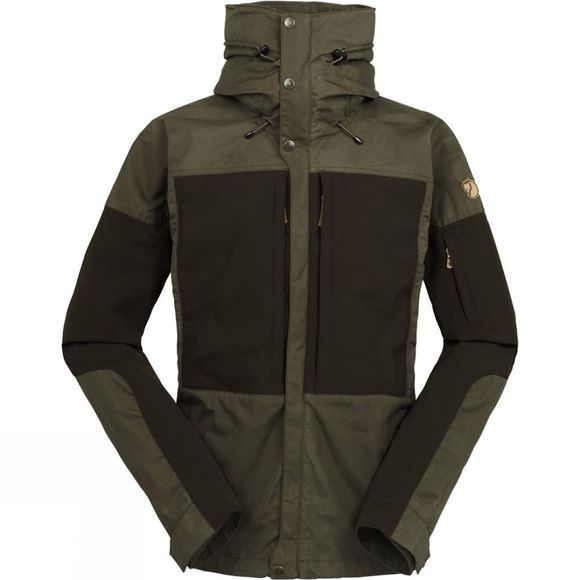 Fjallraven Men's Keb Jacket Tarmac/Dark Olive