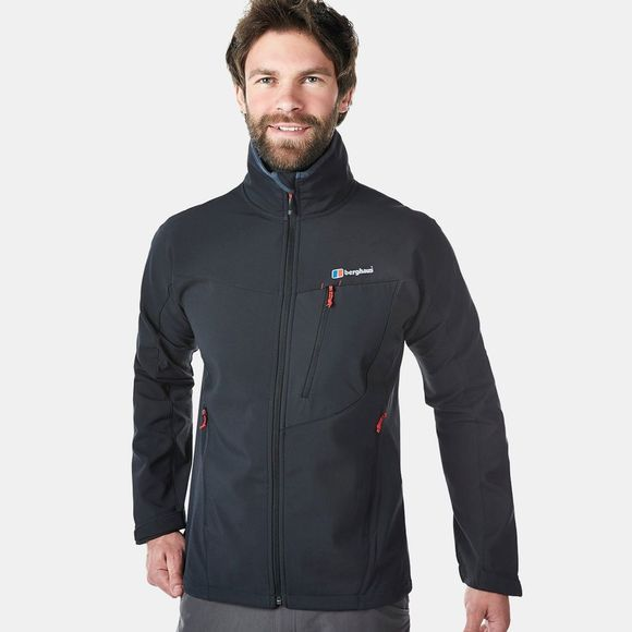 Berghaus Mens Ghlas Softshell Jacket Black