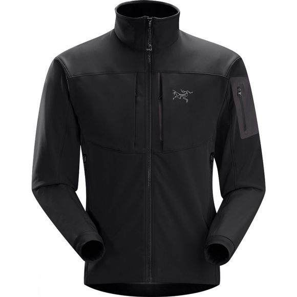 Arc'teryx Mens Gamma MX Jacket Blackbird