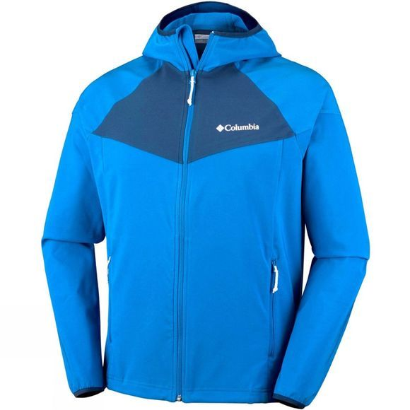 Columbia Mens Heather Canyon Jacket Super Blue/Carbon