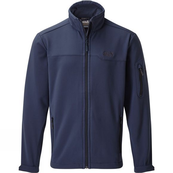 Jack Wolfskin Mens Hayford Softshell Jacket Night Blue/Phantom