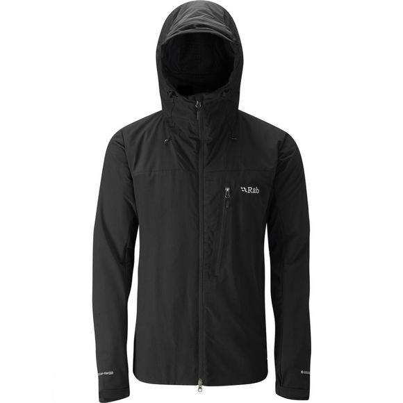 Rab Mens Vapour-Rise Guide Jacket Black/Beluga