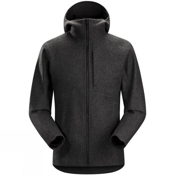Arc'teryx Mens Cordova Jacket Black Heather