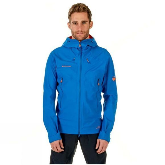 Mens Ultimate Eisfeld SO Hooded Gore Windstopper Jacket