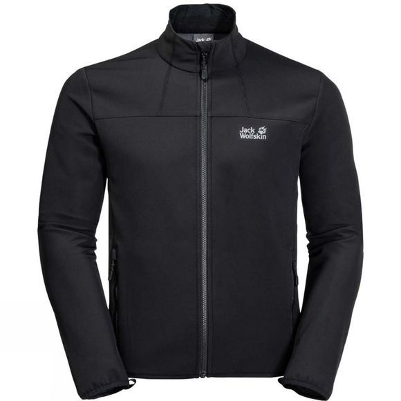 Jack Wolfskin Mens Essential Track Jacket Black