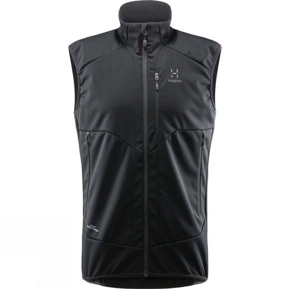 Haglofs Mens Multi WS Vest True Black