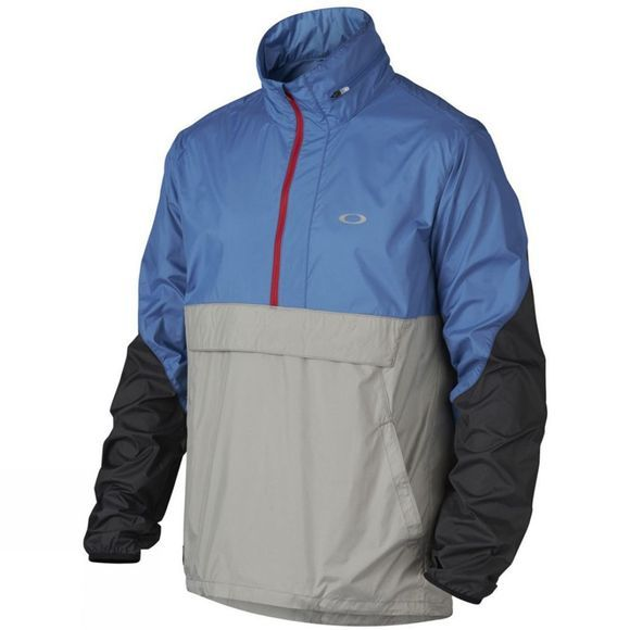 Oakley Men's Century 1/2 Zip Windbreaker Delft