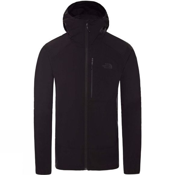 The North Face Mens Northdome Stretch Wind Jacket TNF Black
