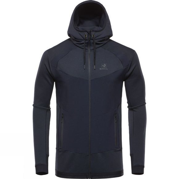 Mens Hooded Silhouette Fleece