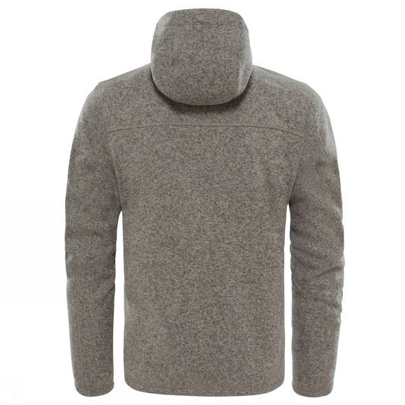 The North Face Mens Gordon Lyons Hoodie Falcon Brown Heather