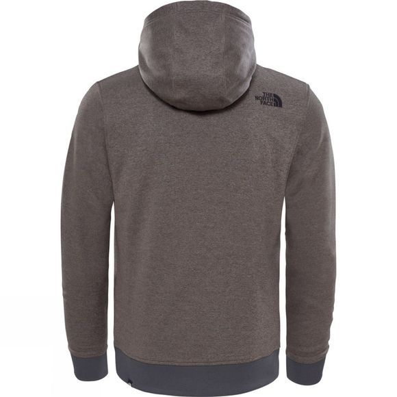 The North Face Mens Mc Drew Peak Hoodie Falcon Brown Dark Heather