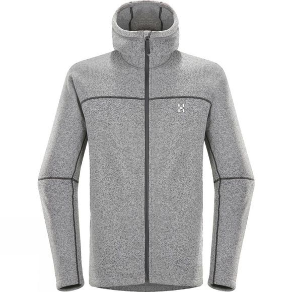 Haglofs Swook Hood Concrete/True Black