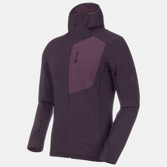 Mammut Mens Aconcagua Light ML Hooded Jacket Galaxy Melange