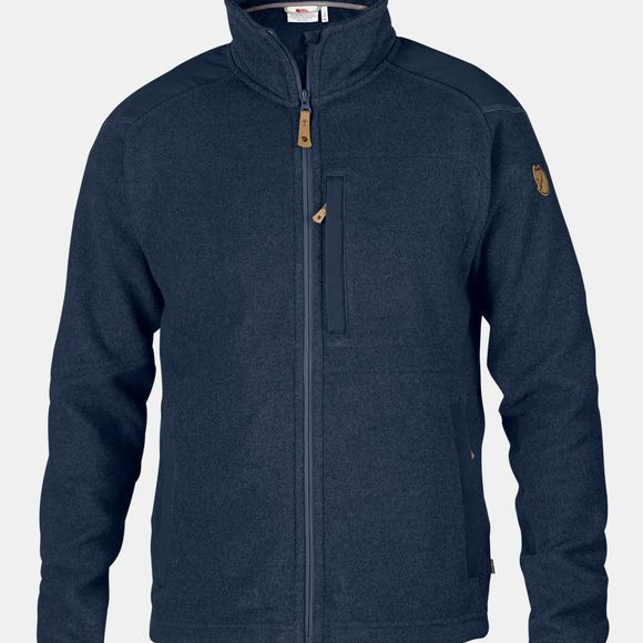 Fjallraven Mens Buck Fleece Dark Navy