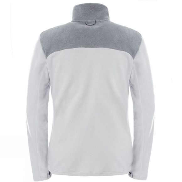 The North Face Men's 100 Glacier Full Zip TNF Light Grey Heather