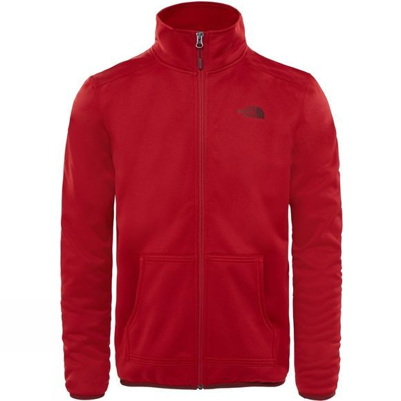 The North Face Mens Tanken Full Zip Jacket Cardinal Red/Sequoia Red