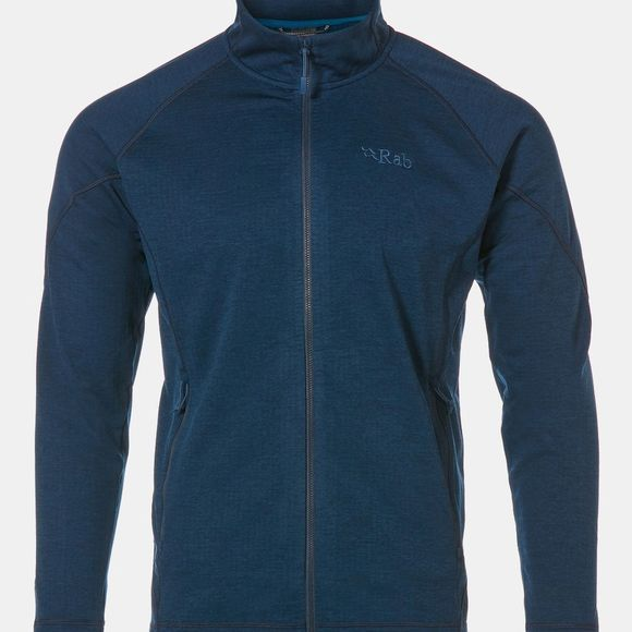 Rab Mens Nucleus Fleece Deep Ink