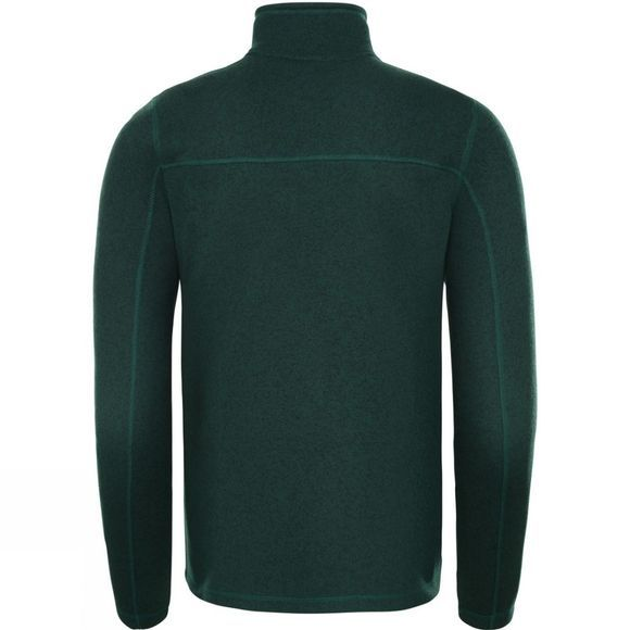 The North Face Mens Gordon Lyons Full Zip Fleece Night Green Heather