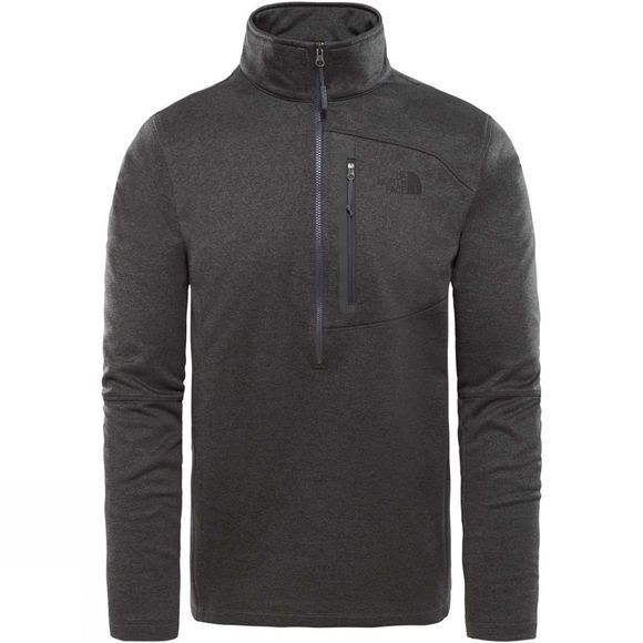 The North Face Men's Canyonlands Half Zip Fleece TNF Dark Grey Heather