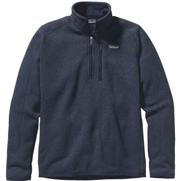 Patagonia Mens Better Sweater 1/4-Zip Fleece Classic Navy