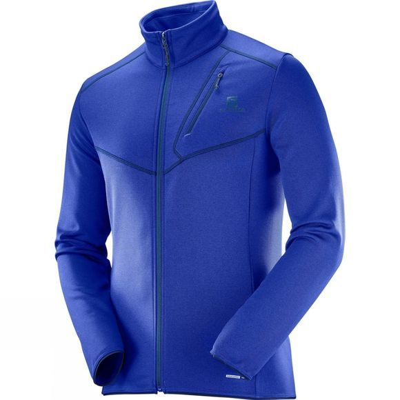 Salomon Mens Discovery Full Zip Surf The Web