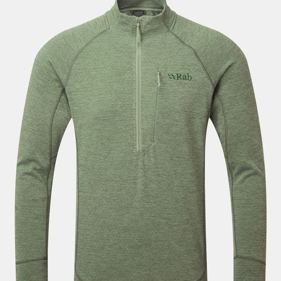 Rab Mens Nexus Pull-On Fleece Silverpine
