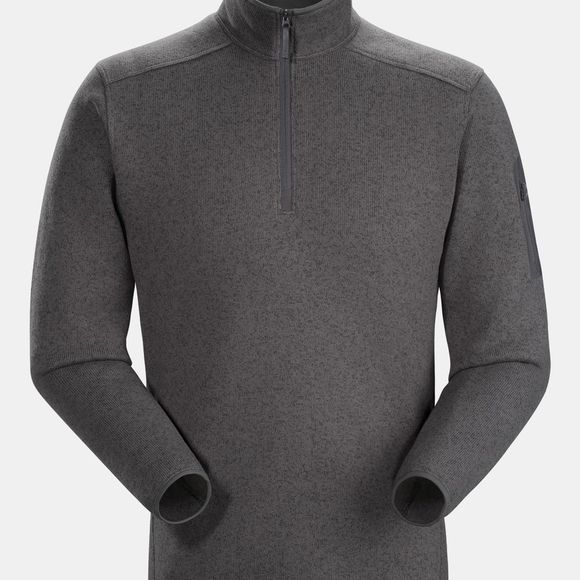 Arc'teryx Mens Covert 1/2 Zip Neck Fleece Pilot Heather