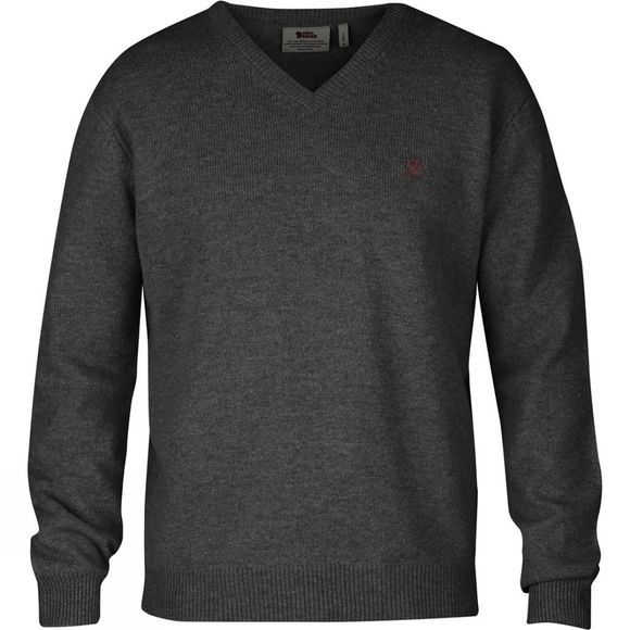 Fjallraven Mens Shepparton Sweater Dark Grey