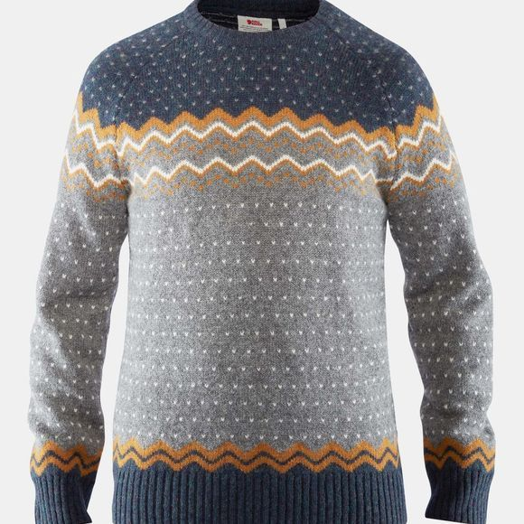 Fjallraven Mens Övik Knit Sweater Acorn