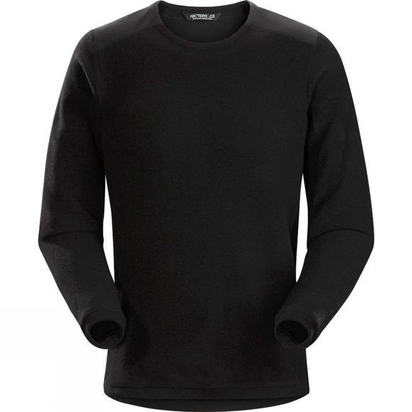 Arc'teryx Mens Donavan Crew Neck Fleece Black