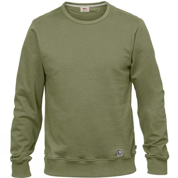 Fjallraven Mens Greenland Sweatshirt Green