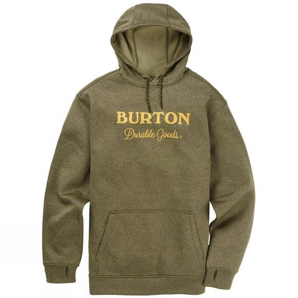 Burton Men's Oak Pullover Hoodie Keef Heather