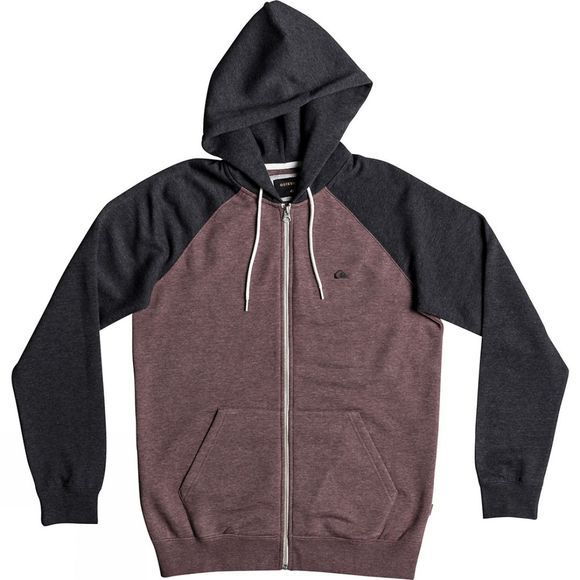 Quiksilver Men's Everyday Zip Marron Heather