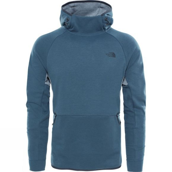 The North Face Mens Mountain Slacker Pull-On Hoodie Conquer Blue