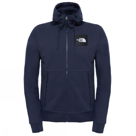 The North Face Fine Full Zip Hoodie Urban Navy