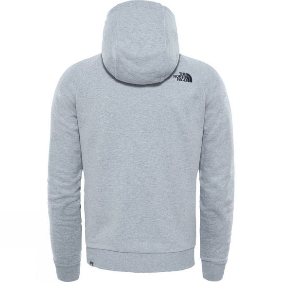 The North Face Mens Raglan Simple Dome Hoodie TNF Light Grey Heather