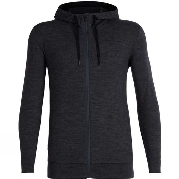 Icebreaker  Shifter LS Zip Hood Jet Heather