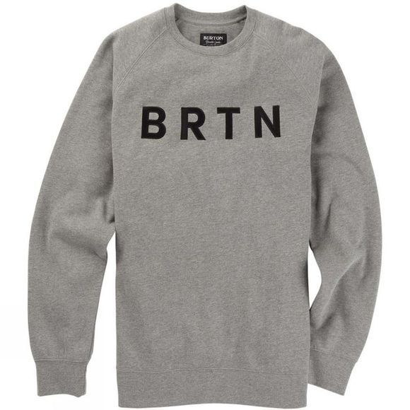 Burton BRTN Crew Gray Heather