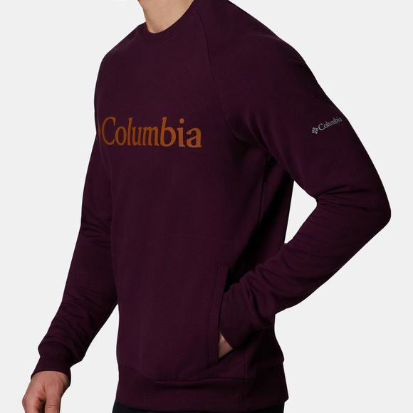 Columbia Men's Columbia Lodge Crew Black Cherry