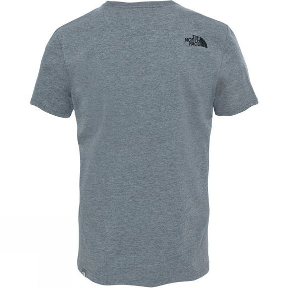 The North Face Mens Short Sleeve Woodcut Dome T-Shirt TNF Medium Grey Heather (Std)