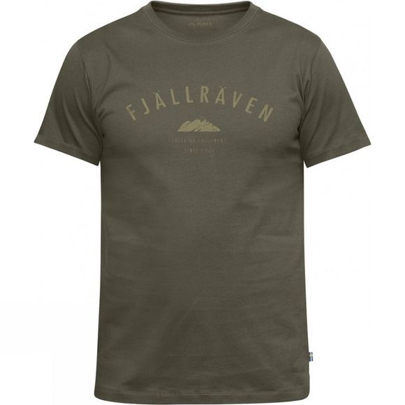 Fjallraven Men's Trekking Equipment T-Shirt Tarmac