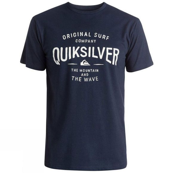 Quiksilver Men's Classic Claim It Tee Navy Blazer
