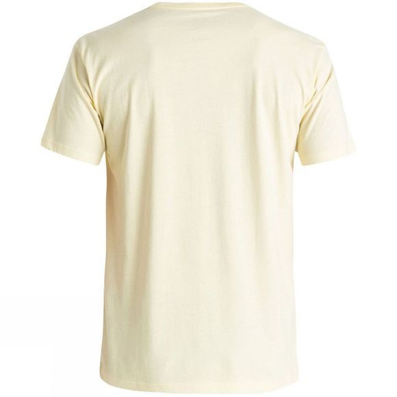 Quiksilver Men's Classic Claim It Tee Trans Yellow
