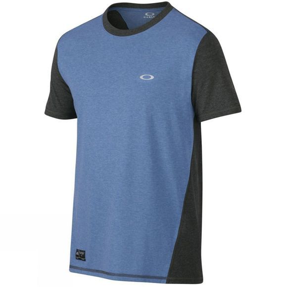 Oakley Men's Exposure Crew Tee Delft Light Heather
